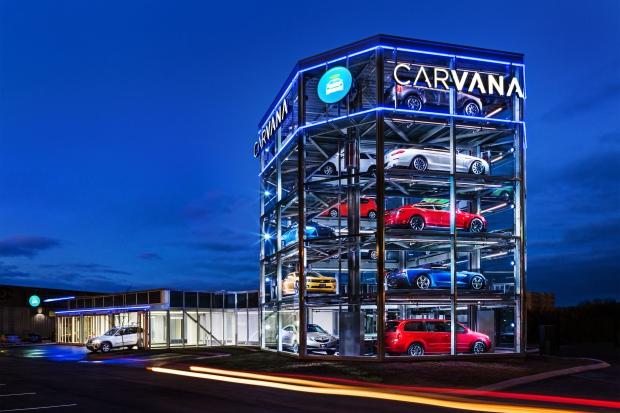Carvana Car Vending Machine Ontario